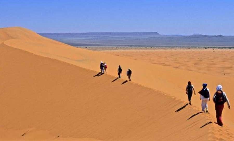Caravane Trek initiatique Sud Tunisien image